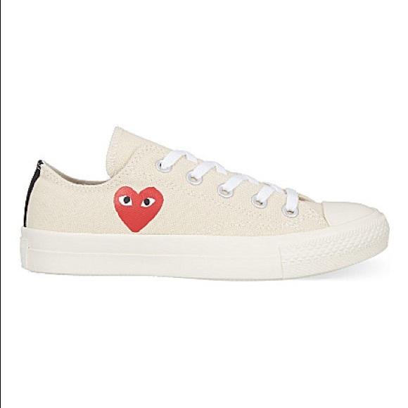 d27ff2c1405 Converse Shoes - Comme Des Garçons Play Converse Love Top sneakers